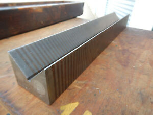 18 Long Magnetic Transfer V Block For Surface Tool Grinder Chuck Lot A