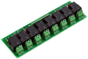 8 Channel Spst no 30amp Power Relay Module Board 12v Version 30a X1