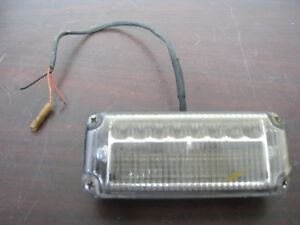 Federal Signal Viper Ext Vpx800 b Led Warning Light In Good Condition