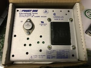 Power One Component Custom Rectifier Hc5 6 Ovp a 5v Out 6a W ovp