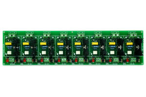 Eight Channel 6a Ssr Module Board In 4 32vdc out 100 240vac Solid State Relay