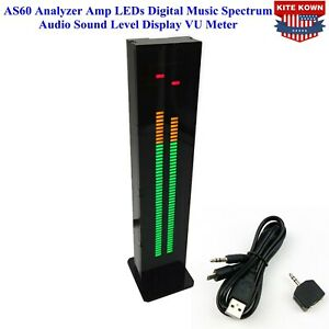 As60 Analyzer Amp Leds Digital Music Spectrum Audio Sound Level Display Vu Meter