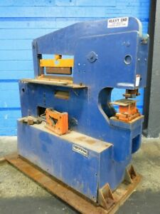 Scotchman 12012 24m Iron Worker 120 Ton Punch 07180430016