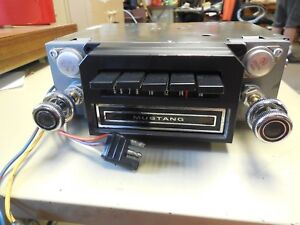 Reconditioned 1970 Ford Mustang Am 8 track Radio