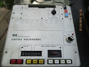 Vintage Udytrol Programmer Electronic Test Equipment Oxi Metals Industries Corp