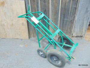Anthony Large Liquid Cylinder Rolling Cart Hand Truck Used 1