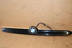 01 06 Bmw E46 Convertible M3 325ci 330ci License Tag Light Trunk Trim Handle