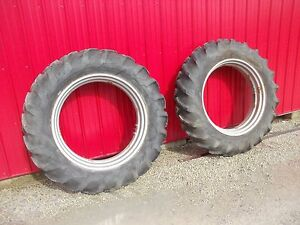 Farmall Ih Mta Sm Super M Smta Tractor Super 13 Rims 14 9x38 Good Yr Tires