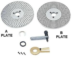 Accura vertex Dp 2 Dividing Plate Set For 8 Inch Rotary Tables