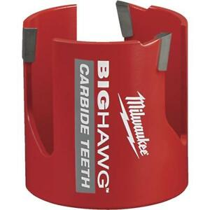 Milwaukee High performance Big Hawg 2 9 16 In Dia Carbide tipped Hole Saw
