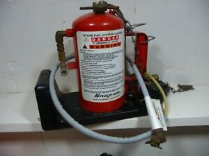 Snap On Mt338b Fuel System Cleaner