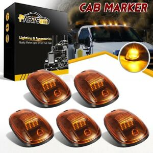 5xamber 264146am Roof Cab Clearance Yellow 16 Led Lights For Dodge Ram 2500 3500