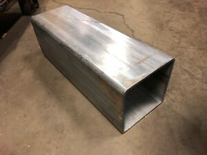 6 X 6 X 17 5 Long 1 4 0 25 Wall 304 Stainless Steel Square Tube