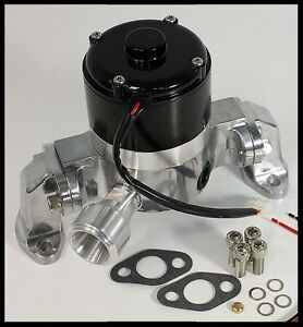 Sbc Chevy Elite Ultra Flow Electric Water Pump Polished E 5926 P Clearance