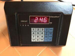 Chrontrol Cd 4 Table Top Programmable Timer Controller 4 Outlets F Z B N