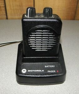 Motorola Minitor V 5 Single Channel Low Band Pager 45 48 995 Mhz