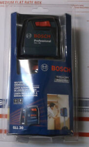 Bosch Self Leveling Cross Line Laser Gll 30