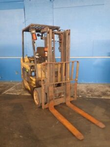Hyster Erc080hg Electric Forklift 8000 Lbs 02180272500
