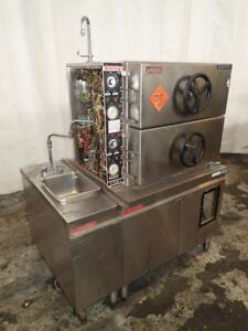 Market Forge A plus 2 S s Pressure Steamer 2 Chambers 8 Psi 12091640873