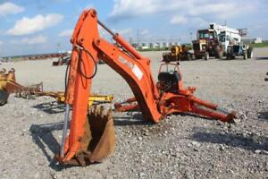 Kubota Bt1000 Backhoe Attachment For Kubota L39 Loader Backhoes
