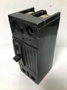 General Electric Ge Thqd22225 Circuit Breaker 2p 225a 240v Thqd Used 225 Amp
