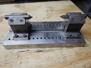 Machined Steel Bench Center Machinist Tooling Jig Fixture Grinding Machinist