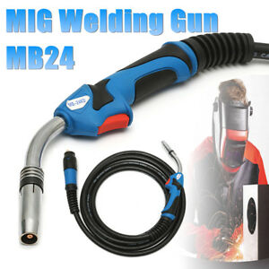Mb24 Mig Welding Gun Mig Welder Torch Stinger Tool Parts 16 5ft 5m Lead Length