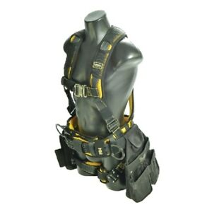 Guardian 21033 Cyclone Construction Harness Sm Quick Connect Chest leg Tb Waist