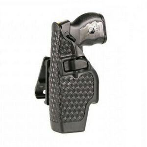 Blackhawk Black Basketweave Serpa Level 2 Right Hand Holster Fits Taser X 26
