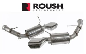 2013 Mustang Gt 5 0 Roush Rs3 High Performance Exhaust Kit W Dual Chamber Tips