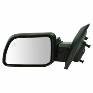 Exterior Power Heated Puddle Light W Blind Spot Memory Signal Mirror Lh New