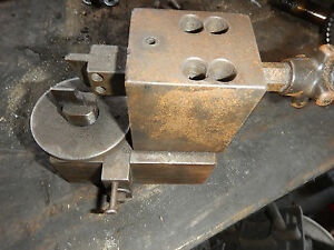 Small Setting Jig From A Broaching Machine Shop Machinist Tooling Fixture