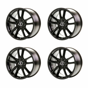 2005 2014 Ford Mustang Gt Gloss Black Track Pack Wheels 19 X 9 Set Of 4