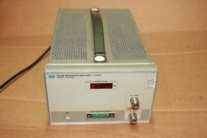Hp agilent keysight 8349b Microwave Amplifier 2 To 20 Ghz 2000 20000mhz
