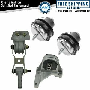 Engine Motor Mounts Kit Set Of 4 For Volvo S60 V70 Xc70 Xc90 New