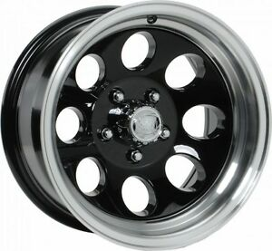 5 15 15x10 Ion 171 Black Aluminum Wheels Rims 5x4 5 Jeep Wrangler Tj Yj
