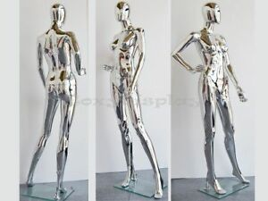 Free Shipping Female Plastic Mannequin Display Head Turns ps sf15sceg