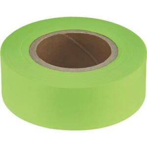 12 Pk Empire 200 Length X 1 Width High quality Performance Lime Flagging Tape