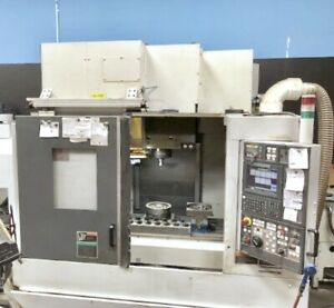 Used Mori Seiki Duracenter 5 Cnc Vertical Mill 2004 Tsc 1000psi Chip Fanuc