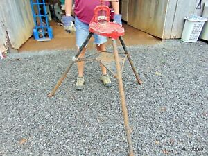 Ridgid 40 a Vise Tripod Stand Use With Your Pipe Threading Threader 300 700