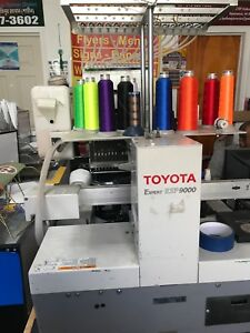 Toyota Expert Esp 9000 Esp9000 Commercial Embroidery Machine