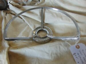 1959 Ford Fairlane Galaxie Steering Wheel Horn Ring 2701133