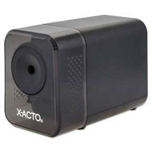 X acto Xlr Office Electric Pencil Sharpener Charcoal Black 079946102390