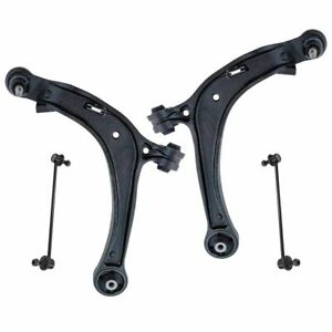 4 Piece Suspension Kit Lower Control Arms W Ball Joints Sway Bar End Links New