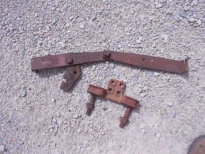 Farmall Ih B Bn Tractor Cultivator Mounting Steering Bracket Pedestal Side Front