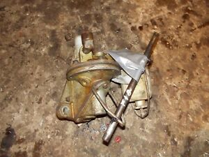 Mccormick Farmall F12 F14 Tractor Ih Engine Motor Fuel Pump Assembly