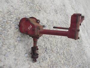 Mccormick Farmall F12 Tractor Original Ih Engine Motor Governor Assembly Case