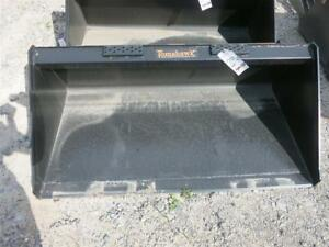 New unused Tomahawk 60 Smooth Bucket For Skid Steer Loaders Ssl Quick Attach