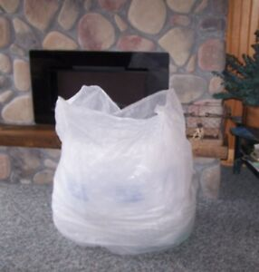 Large Bag Full Preowned Used Bubble Wrap Pillow Wrap Packing Shipping Material