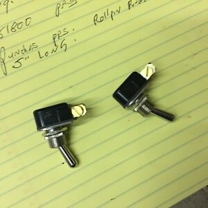 Vintage Antique Street Rod Hot Cole Hersee 5558 Toggle Switches
